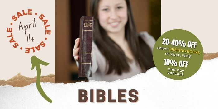 One Day Sale - Bibles