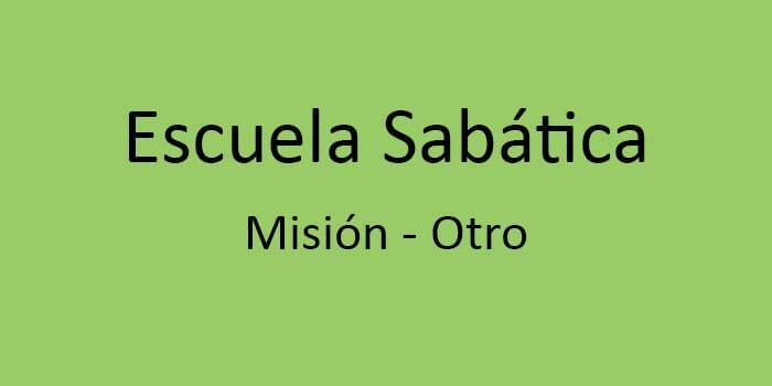 misión - otro
