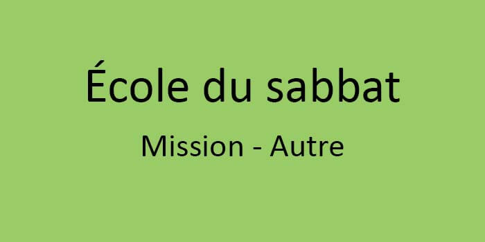 mission - autre