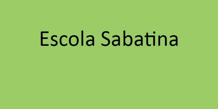 Escola Sabatina
