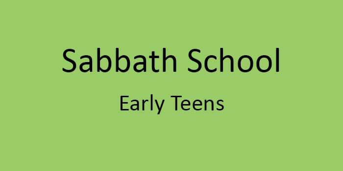 Early Teens