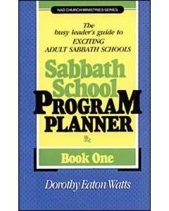 Sabbath School Program Planner