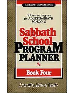 Sabbath School Program Planner, Book 4