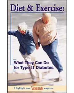 Diet & Exercise: What They Can do for Type 2 Diabetes, Package of 100 (Vibrant Life Tracts)