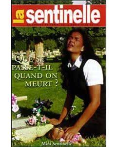 Pocket La Sentinelle - Que se Passe-t-il Quand on Meurt? - Package of 100