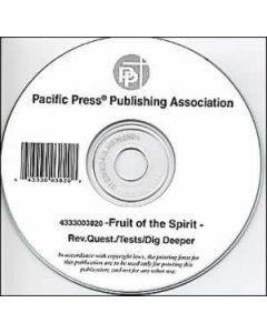 Fruit Of  Spirit Questions/Tests CD