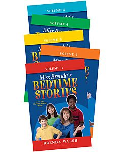 Miss Brenda's Bed Time Story Book 5V Set