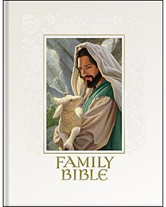 Family Keepsake Bible KJV English White