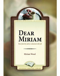 Dear Miriam