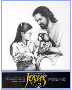 Expressions of Jesus  No. 2 (11x14 Poster)