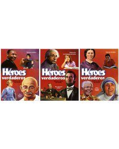 Héroes Verdaderos: Historias y valores para triunfar - 3-volumes (Español)