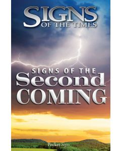 Pocket Signs - Signs of the Second Coming - Packet of 100