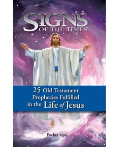 Pocket Signs - 25 Prophecies of Jesus - Package of 100