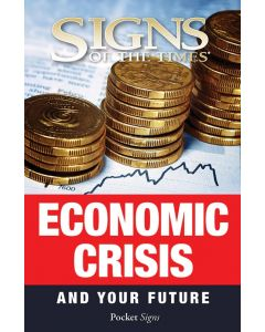 Pocket Signs - Economic Crisis - Packet of 100