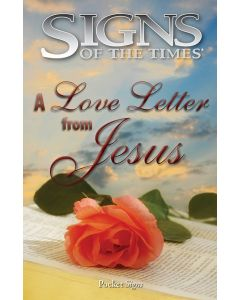 Pocket Signs - A Love Letter from Jesus - Packet of 100