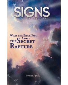 Pocket Signs - The Secret Rapture - Package of 100