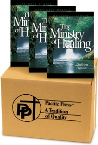 Ministry of Healing book cover